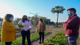 Convenio para fortalecer la producción de verduras, legumbres y hortalizas en Barranqueras