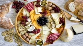 Una tabla de quesos de ensueño