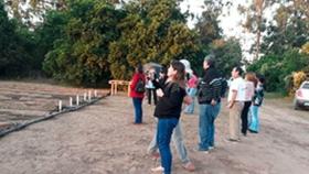 El CeDeVa y la Escuela Agrotécnica trabajan juntos en huerta comunitaria que abastecerá a comedores