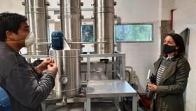 Trabajo conjunto para el agregado de valor en origen a la producción de frutas