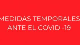 Medidas Temporarias ante el COVID ? 19