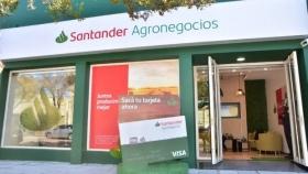 Santander abrió su primera Oficina Comercial 100% de Agronegocios