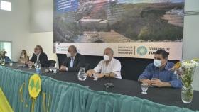 Inauguran obra hidráulica en Tucumán que beneficiará a 1.300 productores