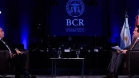Vicentin, hidrovía y Consejo Agroindustrial, temas presentes en el aniversario de la BCR