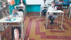 Reinicio de clases: la alegría en las escuelas rurales del norte provincial Bajada: La nueva normalidad en las escuelas rurales
