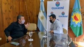Encuentro de productores agroecológicos en Guaminí