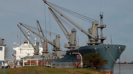 Los 14 buques cargados de madera que dieron vida el año pasado al puerto de Ibicuy