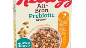 Kellogg lanza All-Bran Prebiotic