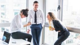 La risa, el sonido de la colaboración y la vinculación