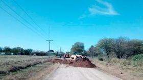 Importante avance de obra en la Ruta 12 para readecuación hidráulica