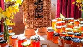 Es una pyme mendocina y fue premiada en Londres por su mermelada con pétalos de flores