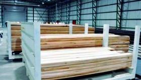 Desde Tolhuin a Punta Arena, después de 20 años vuelven a exportar madera de lenga aserraderos argentinos a Chile