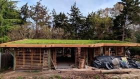 El boom de la bioconstrucción, los que eligen casas más baratas, ecológicas y comunitarias