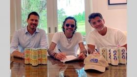 La dueña de Citric fabricará bebidas con la empresa del cantante Marc Anthony