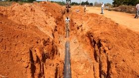 Se gestionaron importantes obras de agua y cloaca para distintas localidades entrerrianas
