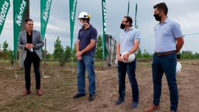 Inauguración Proyecto de Riego Forestal y Efluente Cero