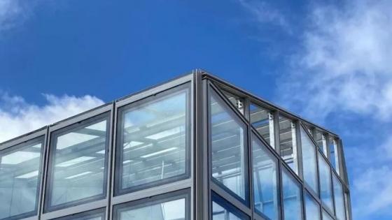 El primer invernadero de vidrio solar del mundo ya es una realidad