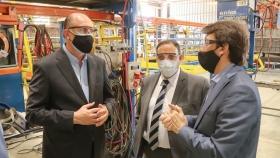 """Perotti: """"Inversiones como esta permiten a las empresas retomar su esquema de producción"""""""