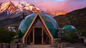Patagonia Eco Domes: glamping a los pies del cerro Fitz Roy