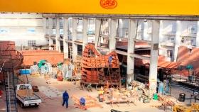 Con tres barcos en construcción, Contessi trabaja bajo una nueva normalidad operativa