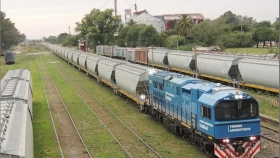 El transporte de maíz en tren crece y se espera que traslade el 10,5% de la campaña 20/21