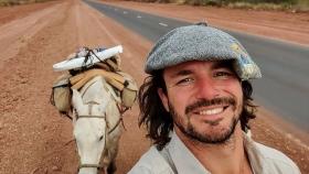 El sueño de abrazar la Argentina a caballo