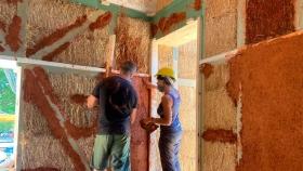 Una experiencia de bioconstrucción en Villasbuenas de Gata