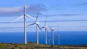 Vientos Neuquinos: inauguraron los primeros diez aerogeneradores