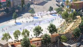 Diseño, usos y creatividad para una plaza de pleno centro