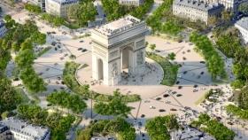 Tras los JJ. OO. de 2024, la avenida Champs Elysées de París será convertida en un jardín con área peatonal
