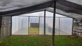 El Carril: construyen un amplio y moderno vivero municipal