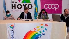 Crearon en El Hoyo la primera Cooperativa de Desarrollo de la Argentina