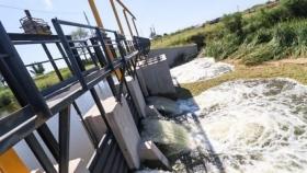 Supervisaron estaciones de bombeo y diques de la cuenta Guaycurú-Iné que benefician a productores rurales