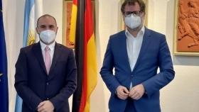 Martín Guzmán se reunió con el Secretario del Ministerio Federal de Finanzas de Alemania