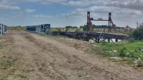 Inauguraron un nuevo puente en el canal 2 que reemplaza a uno de casi 100 años