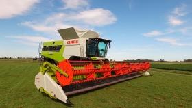 Las cosechadoras más potentes del mundo ya llegaron a América Latina