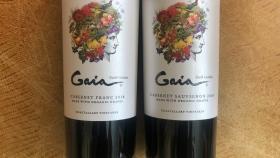 Prensa de vino: dos vinos tintos orgánicos de primer nivel del ramo de dominios en Argentina