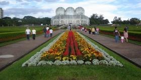 Un oasis verde en la capital de San Pablo