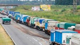 El 93% del transporte de carga de la argentina se hace en camiones