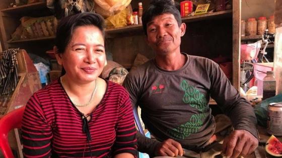 Un productor camboyano apuesta por el cultivo de hortalizas usando fertilizantes y pesticidas limitados