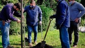 Plan Forestar: Montenegro participó de una nueva jornada de plantaciones