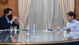 De Pedro y Kicillof firmaron un convenio de asistencia para Buenos Aires en el marco de la pandemia