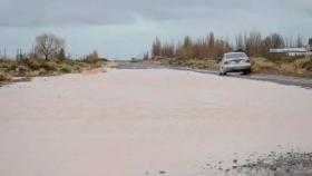 Neuquén pasada por agua, ya llovió más del 30% del promedio anual