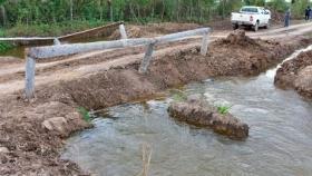Buen funcionamiento de obras hídricas permite a Naineck abastecer al casco céntrico y sus colonias