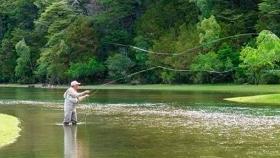 Chubut: provincia continúa con los preparativos para el lanzamiento de la temporada de pesca deportiva