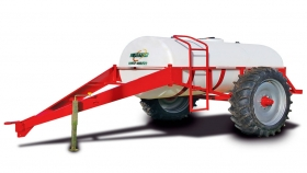Acoplado tanque lechero 3.800 Lts