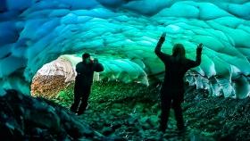 Túneles de Hielo en Los Alerces