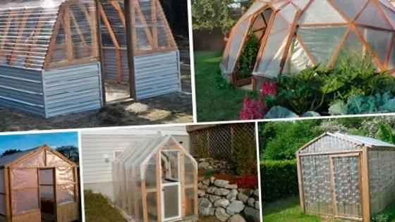 10 planos Gratis para construir tu propio Invernadero