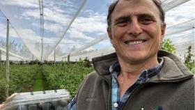 """Alejandro Pannunzio: """"Las certificaciones son un intangible de la producción: cuando uno come fruta, es vital saber de dónde vino"""""""