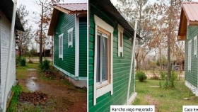 Madera: no solo para construir, sino para mejorar viviendas